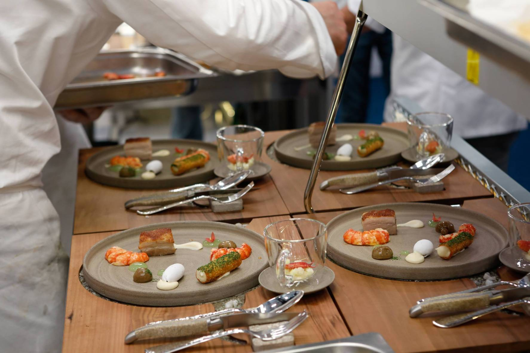 """Stadt Land Fluss"" S. Pellegrino Young Chef Weltfinale 2018 Mailand"